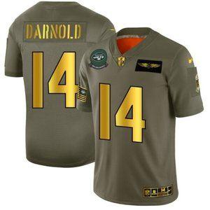 Men's New York Jets 14 Sam Darnold Limited Jersey